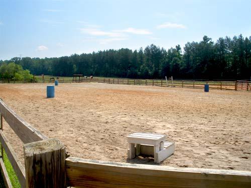 Lynnwood Equestrian Center Riding Ring